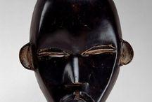 Dan tribe masks.