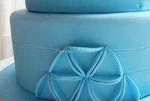 tarta azul