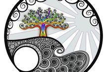 Värit -taide