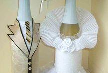 svatební šampusky
