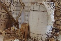 Recycled projects - chairs, furnishings / by Sara Thompson