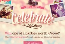 Celebrate with Lily O'Brien's / Win the Party of your Dreams with Lily O'Brien's!  / by Lily O'Brien's Chocolates
