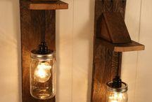 Lampi rustice