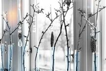 FensterbankDeko