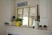 Mantle ideas / by Stacy Stewart