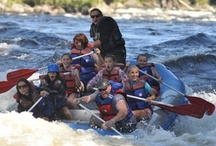 Kennebec Big Hits / Riding the rapids at famous Magic Falls on MAine's Kennebec River