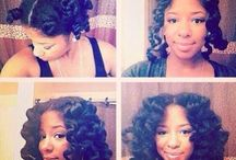 Natural Hair Styles to Rock / A few examples of natural hair styles to rock when using Crown-n-Glory products