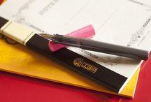 fountain pen / 最近大好き、万年筆。
