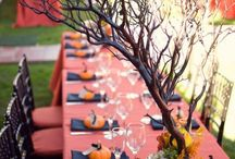 Autumn Wedding Decorations / Create your Autumn Wedding Theme with warm and soothing colours. Contact us for more exciting ideas www.allaboutvenues.com.au