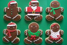 Christmas: Gingerbread Men / by Southerly Creations