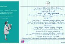 Cultura, Archivio di Stato, Fahrenheit Rai, Mauro Geraci, Musine Kokalari, Roma, Roma Fascista, Simonetta Ceglie