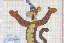 Cross Stitch - Winnie Pooh & co