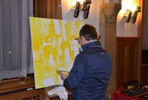 Live painting & Body painting / Art Umění Body painting Live painting