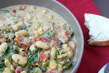 Recipes - Soups, Chilis and Stews / by Debbie Bletl