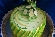 Marcipánové dorty