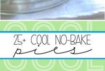 Pie recipes--cool no-bake