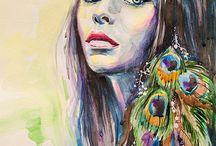 art dream girls inspire