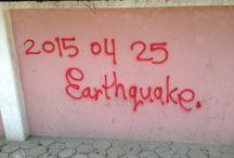 """e a r t h q u a k e  //  a f t e r m a t h / Im April und Mai 2015 erschütterten heftige Erdbeben die Bergnation Nepal. Unsere Gründerin Ann-Carolin hat da schwere Beben am 25. April miterlebt. Unmittelbar danach rief sie das Projekt """"Hilfe für Nepal"""" ins Leben."""