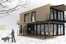 Container House или дом из контейнеров / Доступное и недорогое жилье.