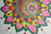 colorfull mandala
