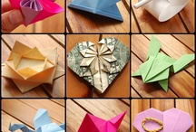 Origarmi and Paper flowers