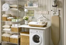 Ideas Lavanderia / Cómo organizar la lavanderia