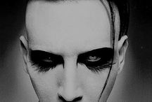 Marilyn Manson / one of my Favorite all Time musicians even though he has become mainstream which isn't metal his era of music is still very mesmerizing.