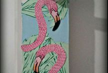 Diy Flamingo Hanger