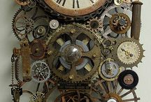 Steampunk timepieces / Badlands loves Steampunk!  Especially timepieces, naturally.