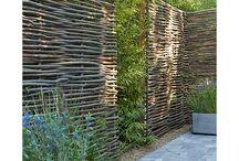 Jardín pared