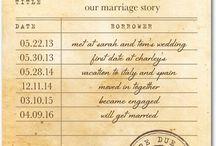 Save the Dates & Invites