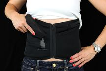 Black Zipper Concealed Carry Corset / The Black Zipper, part of the Dene Adams® Essentials Collection of concealed carry corsets. www.deneadams.com