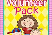 Parent Volunteers / by Delonna @ Clothed in Love