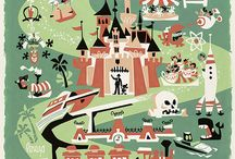 Disneyland Posters