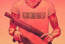 YOLO / Varie con scritto YOLO