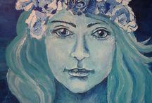 portrait / moje malowanie, my painting, mijn schilderij, meine Malerei, maalaukseni, mi pintura, 我的画