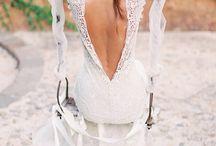 Lage rug jurk