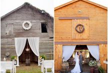 barn/rustic wedding