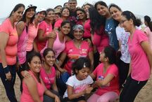 Pinkathon / Pinkathon is the beginning of a movement carried forward by a growing community of empowered women across India, who share a belief that a healthy family, a healthy nation and a healthy world begins with empowered women.
