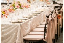 Events starring linens by Gala Cloths / Some of our favorite weddings and events featuring linens from Gala Cloths.
