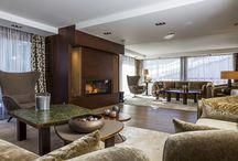 Résidence secondaire de luxe / Photographies d'intérieure de chalets de luxe