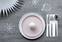 Christmas x Kay Bojesen / Christmas table settings and decoration that include Kay Bojesen's Grand Prix cutlery / flatware. Danish Design.