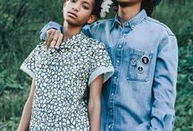 Young Extraordinary Willow and Jaden Smith