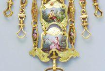 Rococo &  antique chatelaine