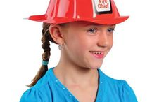 Firefighter Theme / Enjoy great savings on all our firefighter themed party supplies! We have fire helmets, color books, inflatable fire hydrants and much more!