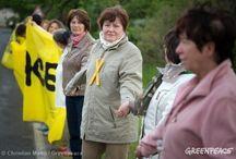 Cadena Humana Contra Crímen Climático / Armamos una cadena humana para detener un crimen climático en la frontera entre Alemania y Polonia. Conocé todos los detalles en: http://grpce.org/1qE3ylL / by Greenpeace Argentina