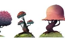 Props Design l Tree - Plants