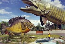 Wisconsin Roadside Attractions / World's largest things and other roadside attractions in Wisconsin to see on your next road trip.