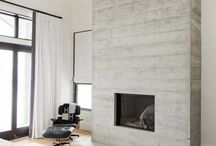 Fireplaces Ideas / Fireplace and mantle ideas and inspiration