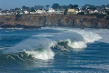 Mendocino for the day / Spend the day in lovely Mendocino shops, gallery's, cafes and hikes